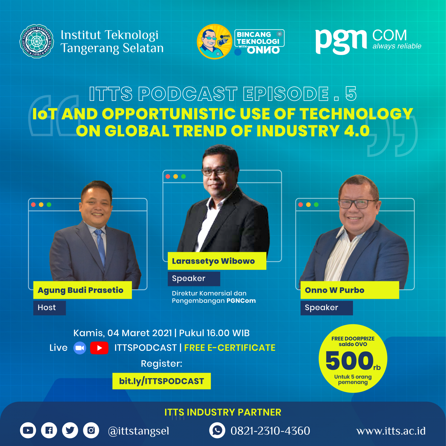 IoT and Opportunistic Use of Technology On Global Trend of Industry 4.0