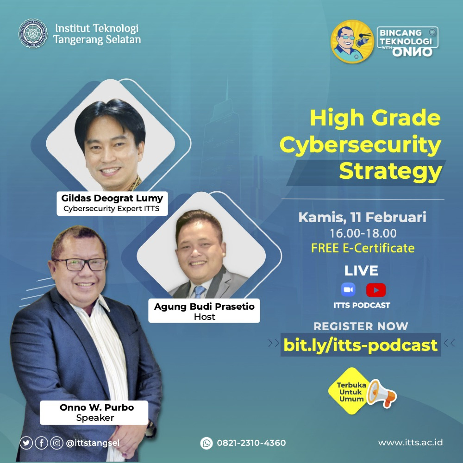 ITTSPODCAST EPISODE 2 - HIGH GRADE CYBER SECURITY STRATEGY