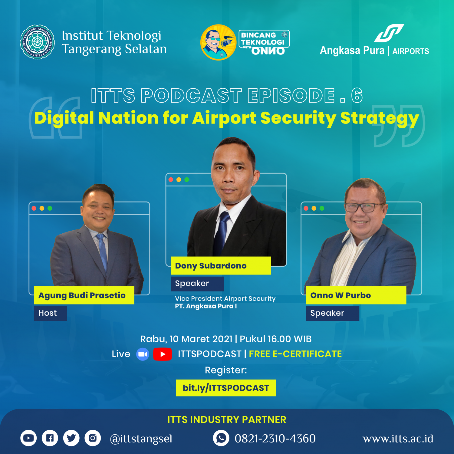 ITTSPODCAST Episode 6 - Digital Nation for Airport Security Strategy
